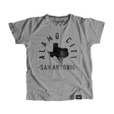 San Antonio Texas - City Motto Youth Shirt - Parkway Prints