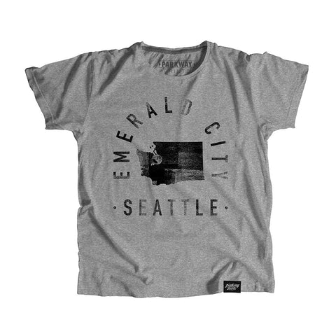 Seattle Washington - City Motto Youth Shirt - Parkway Prints