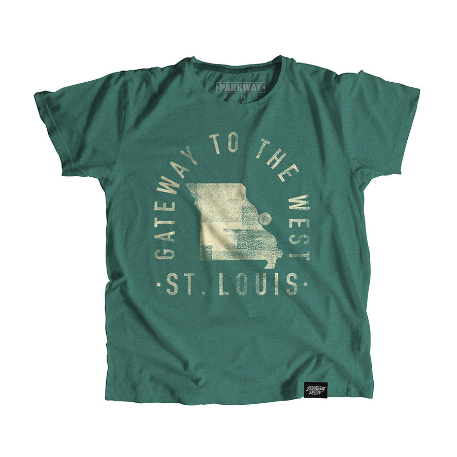 St. Louis Missouri - City Motto Youth Shirt - Parkway Prints
