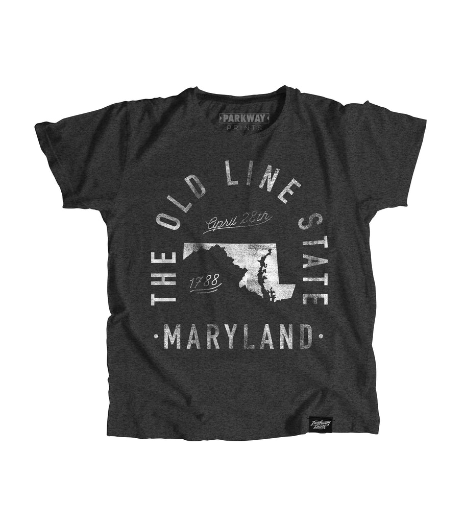 State of Maryland Motto Youth Shirt - Parkway Prints