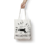 State of Massachusetts - Motto - Tote Bag - Parkway Prints