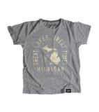 State of Michigan Motto Youth Shirt - Parkway Prints