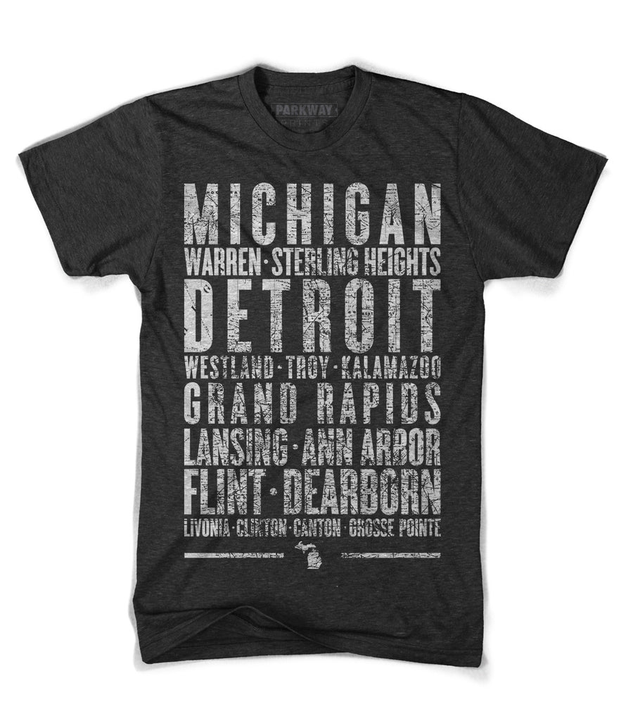 Michigan State Shirt - Unisex - Parkway Prints