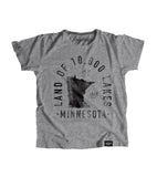 State of Minnesota Motto Youth Shirt - Parkway Prints