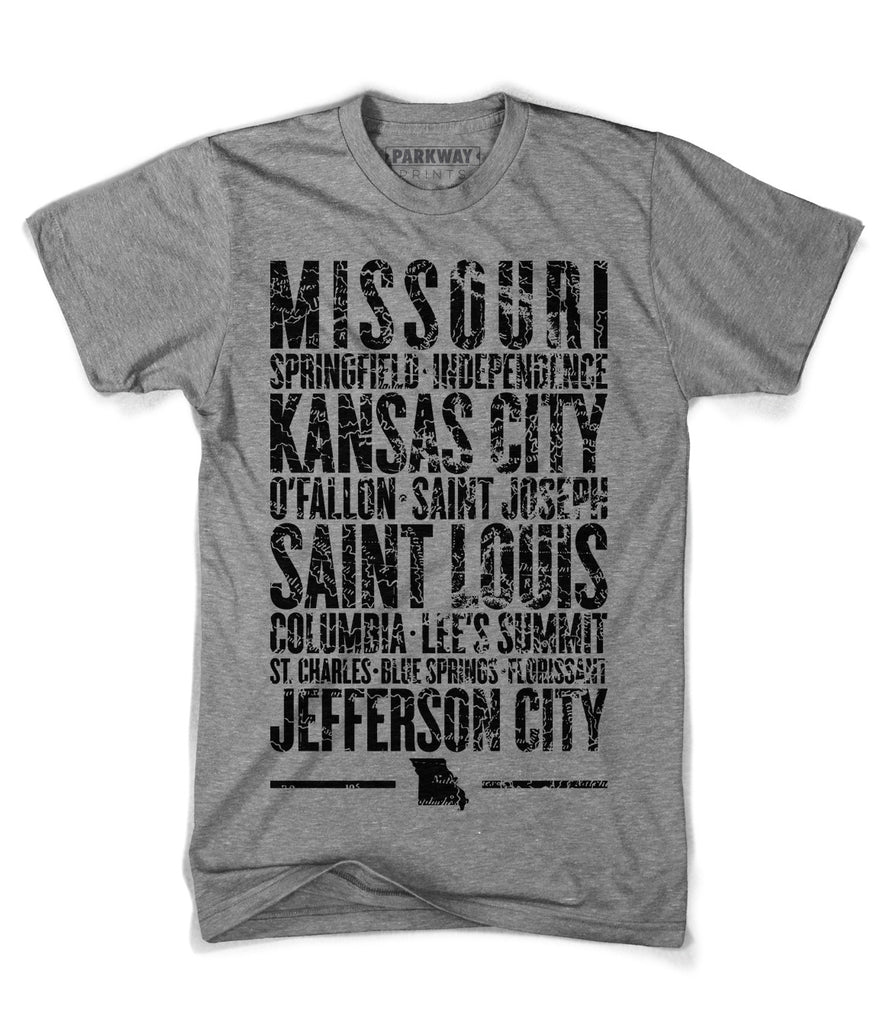 Missouri State Heather Grey Shirt