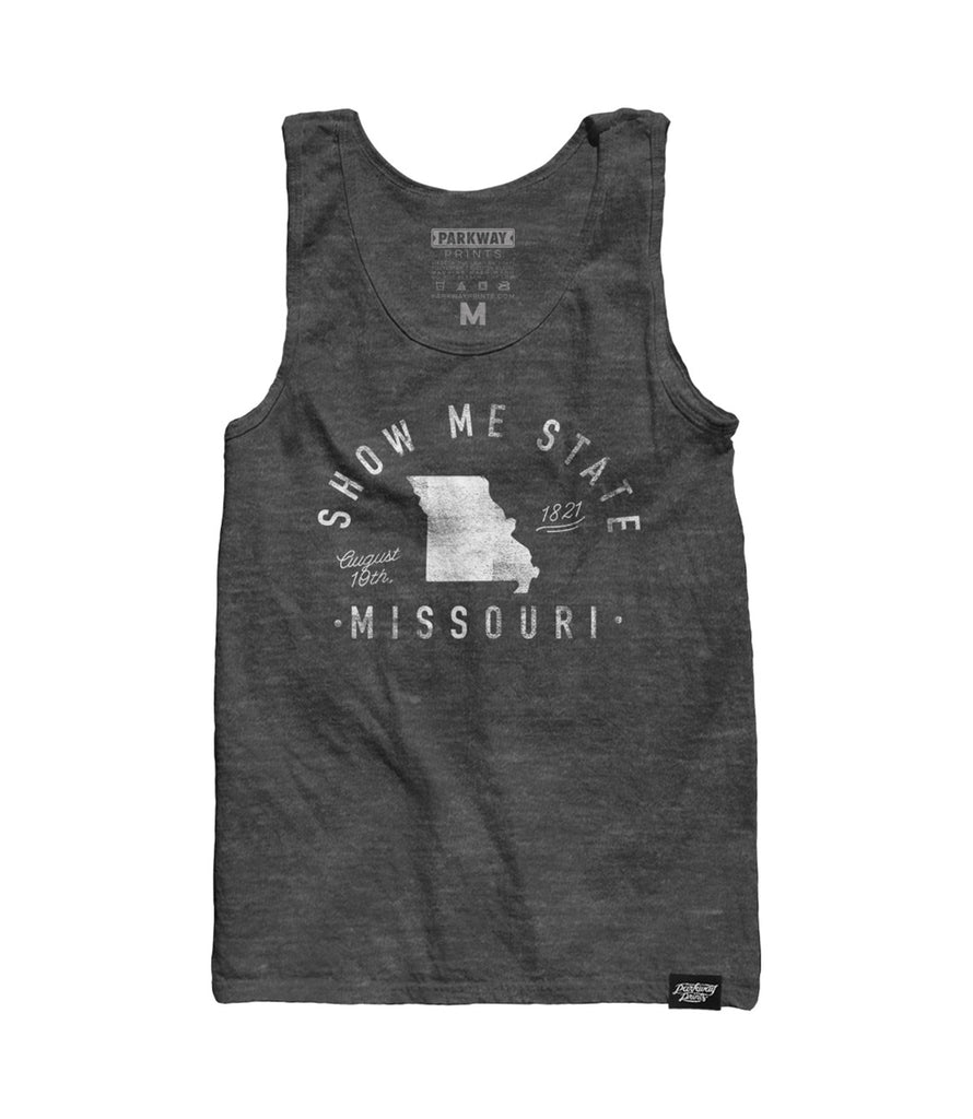State of Missouri - Motto - Tank Top - Parkway Prints