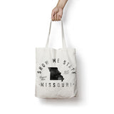 State of Missouri - Motto - Tote Bag