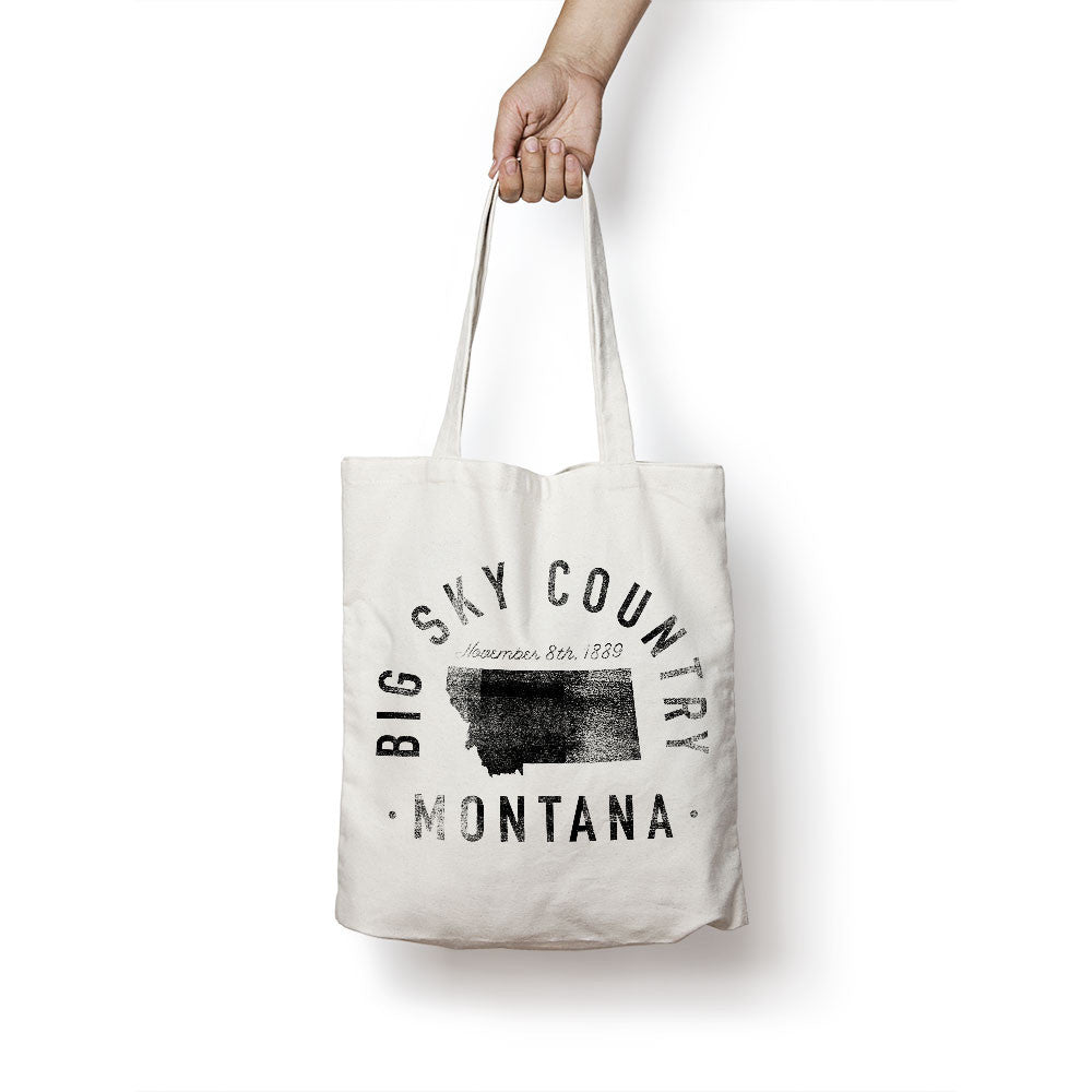 State of Montana - Motto - Tote Bag - Parkway Prints