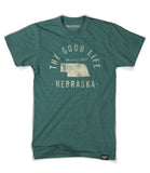 State of Nebraska Motto Shirt - Parkway Prints