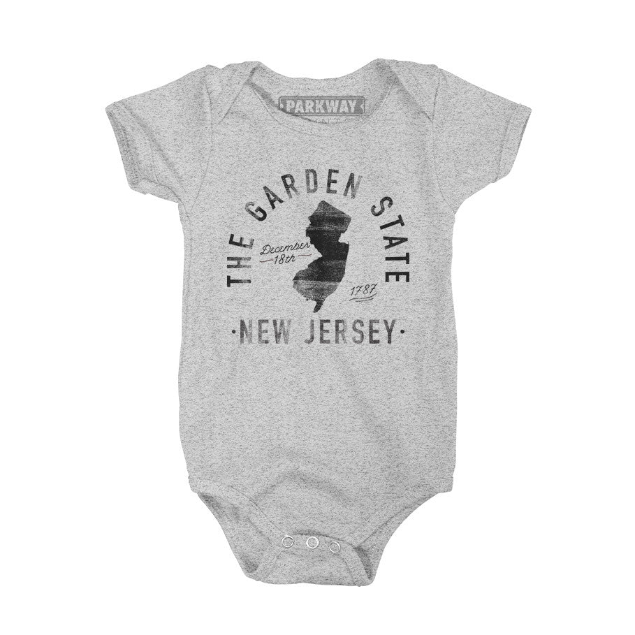 New Jersey - State Motto Onesie - Unisex - Parkway Prints