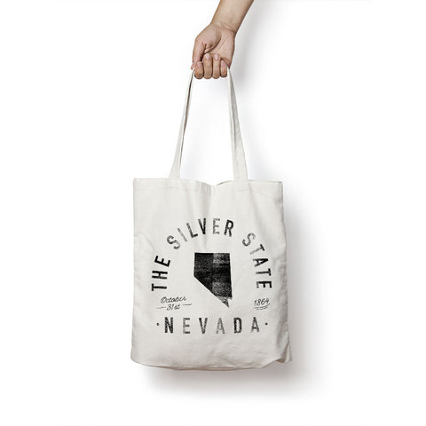 State of Nevada - Motto - Tote Bag - Parkway Prints