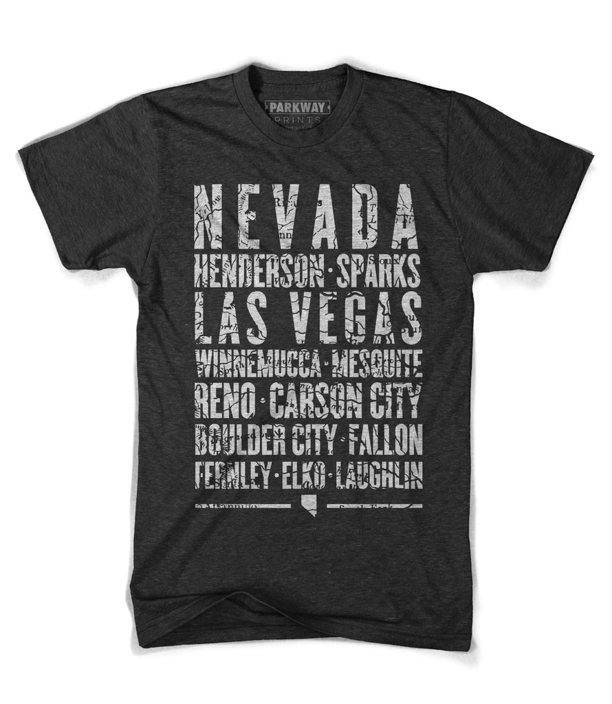 Nevada State Shirt - Unisex - Parkway Prints