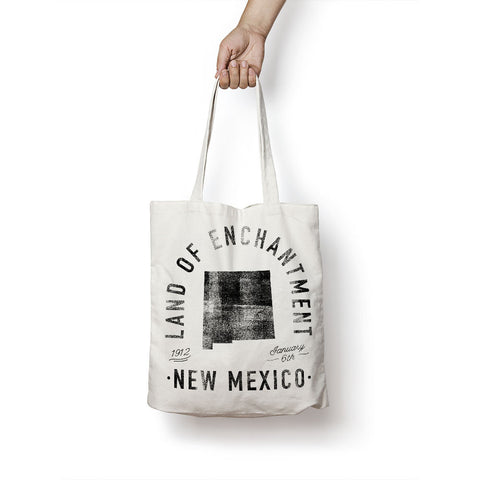 State of New Mexico - Motto - Tote Bag