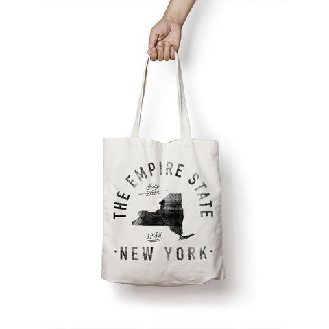 State of New York - Motto - Tote Bag - Parkway Prints