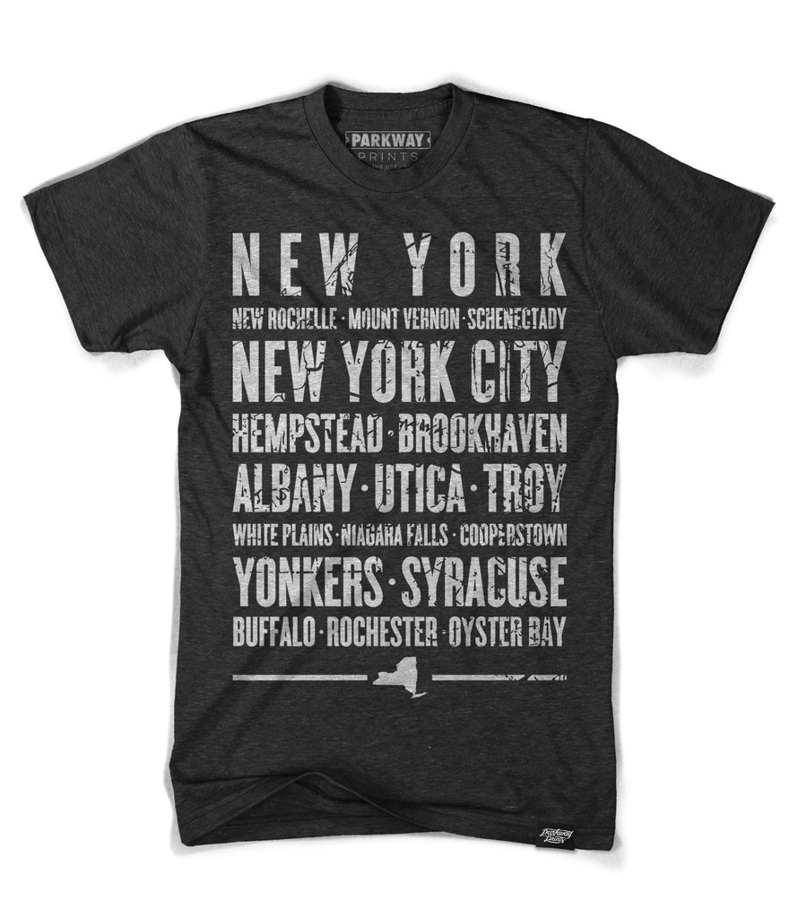 New York State Shirt - Unisex - Parkway Prints