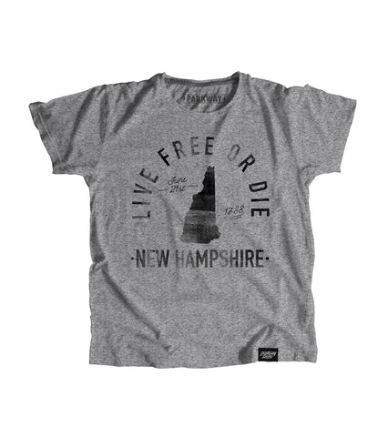 State of New Hampshire Motto Youth Shirt