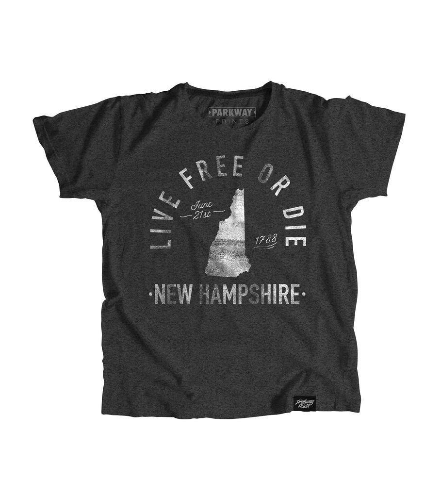 State of New Hampshire Motto Youth Shirt - Parkway Prints