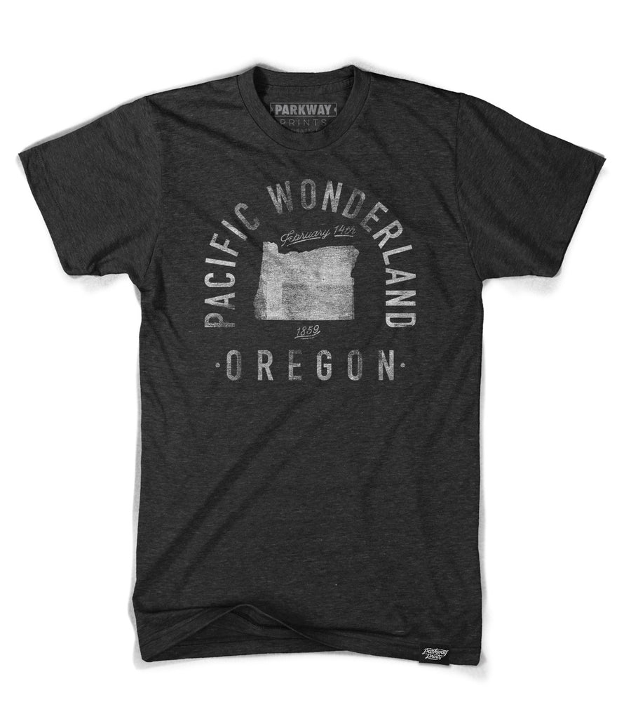 State of Oregon Motto Shirt - Parkway Prints