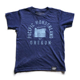 State of Oregon Motto Youth Shirt - Parkway Prints