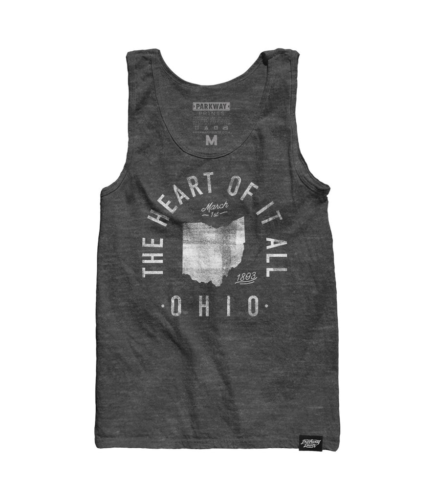 State of Ohio - Motto - Tank Top - Parkway Prints