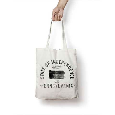 State of Pennsylvania - Motto - Tote Bag - Parkway Prints