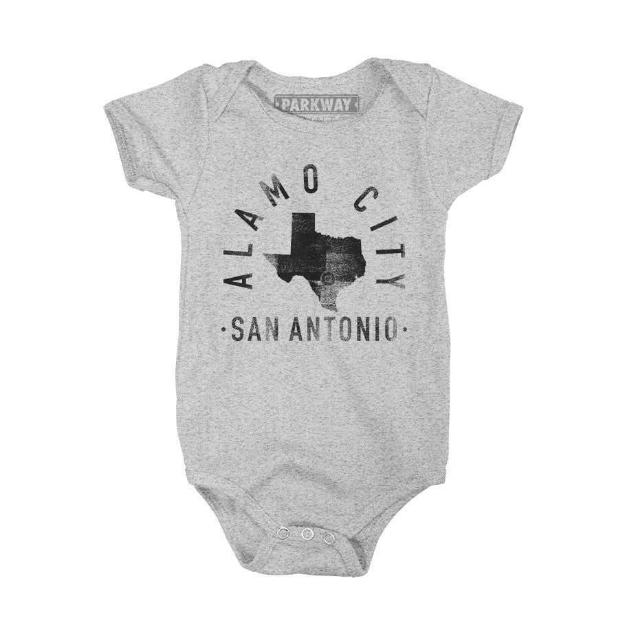 San Antonio Texas - City Motto Onesie - Unisex - Parkway Prints