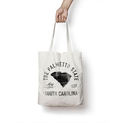State of South Carolina - Motto - Tote Bag - Parkway Prints