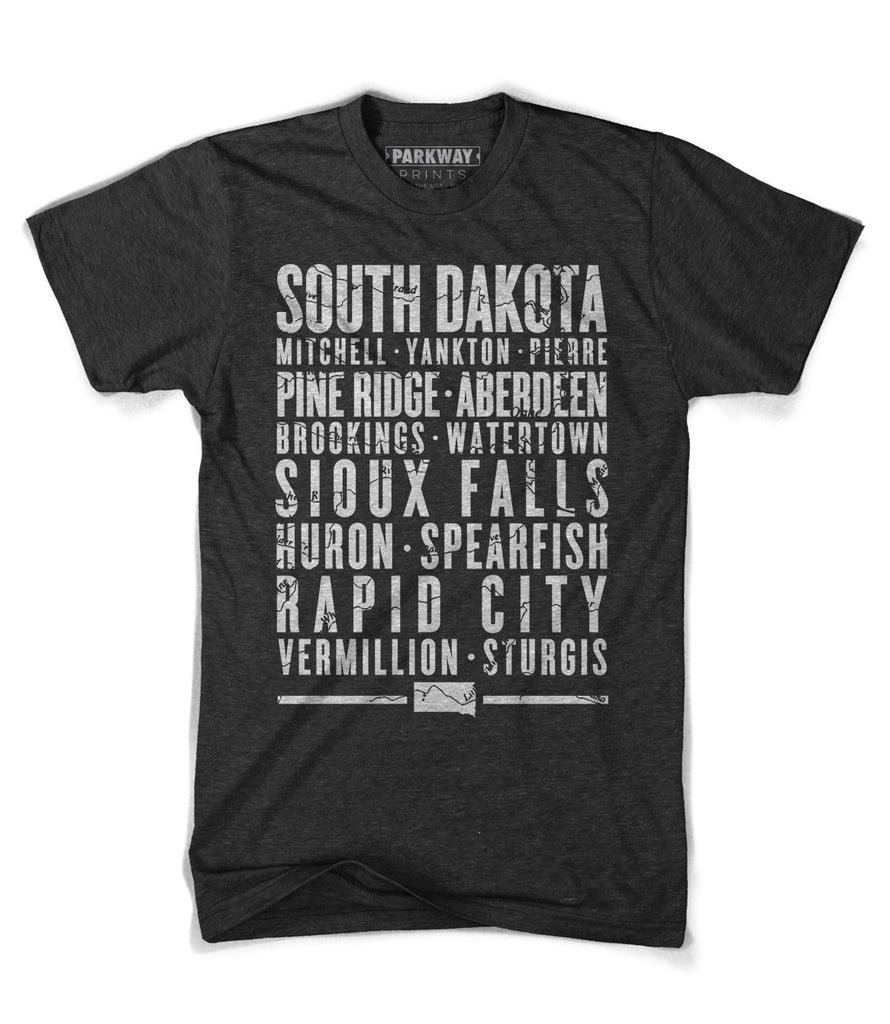 South Dakota State Shirt - Unisex - Parkway Prints