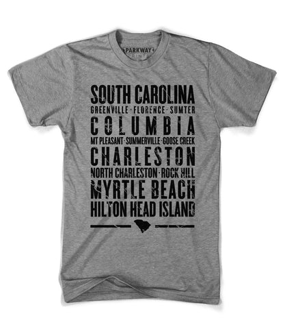 South Carolina State Shirt - Unisex - Parkway Prints