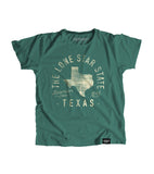 State of Texas Motto Youth Shirt