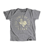 State of Texas Motto Youth Shirt - Parkway Prints