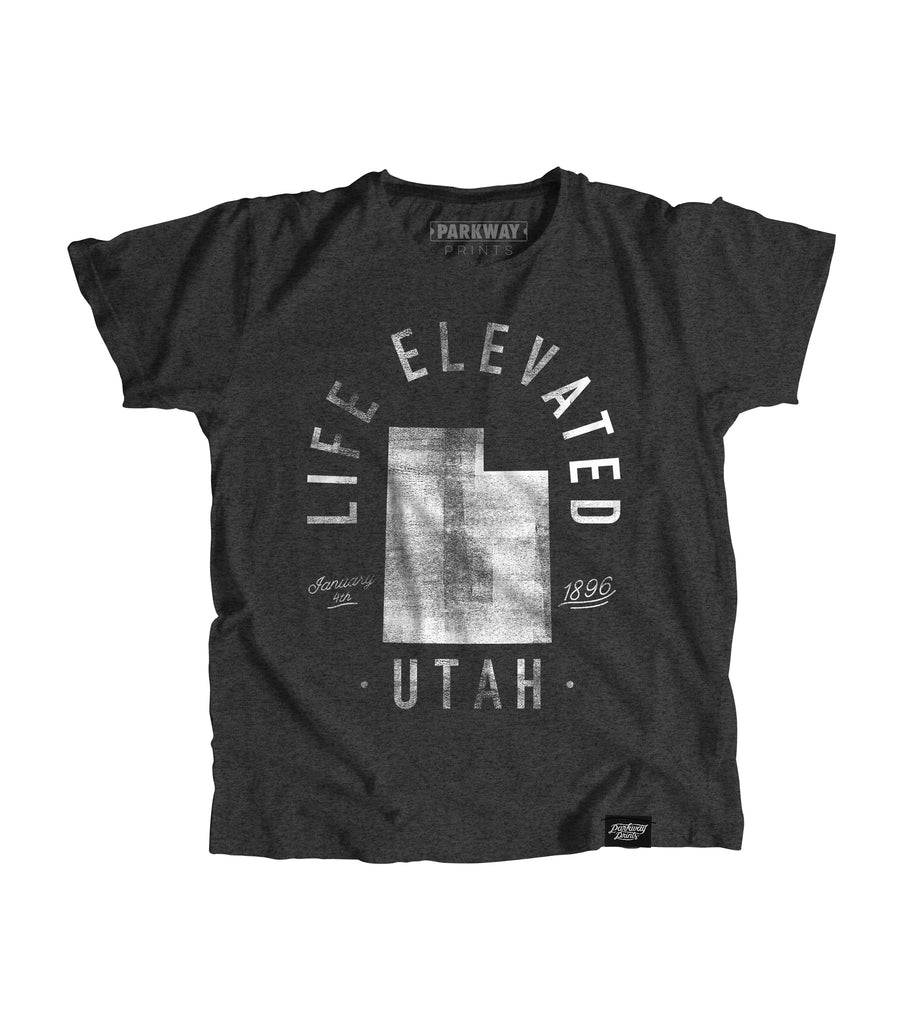 State of Utah Motto Youth Shirt - Parkway Prints