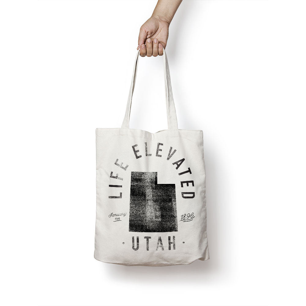 State of Utah - Motto - Tote Bag