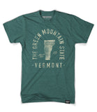 State of Vermont Motto Shirt - Parkway Prints
