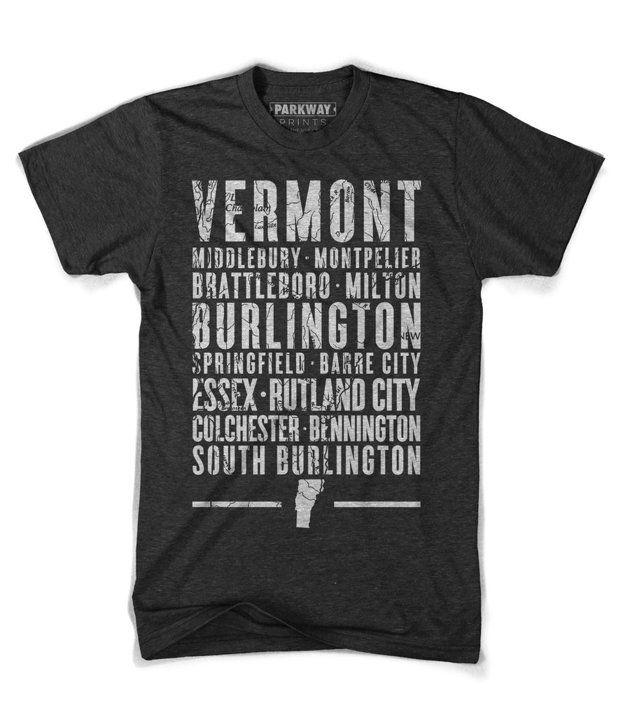 Vermont State Shirt - Unisex - Parkway Prints