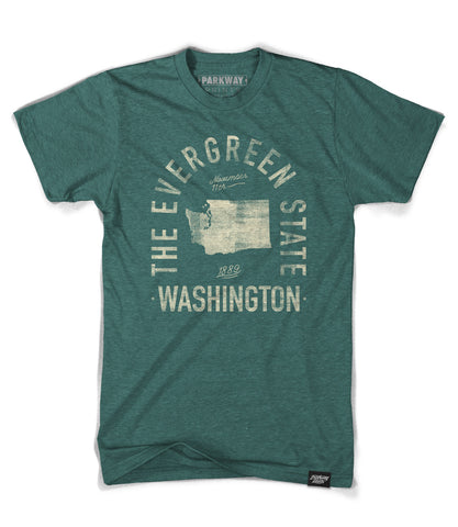 State of Washington Motto Shirt - Parkway Prints