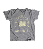 State of Washington Motto Youth Shirt - Parkway Prints