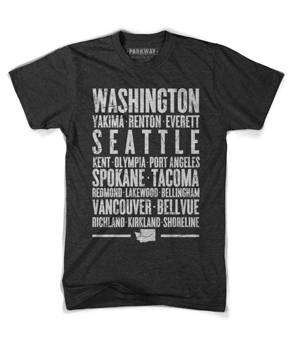 Washington State Shirt - Unisex - Parkway Prints