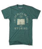 State of Wyoming Motto Shirt - Parkway Prints