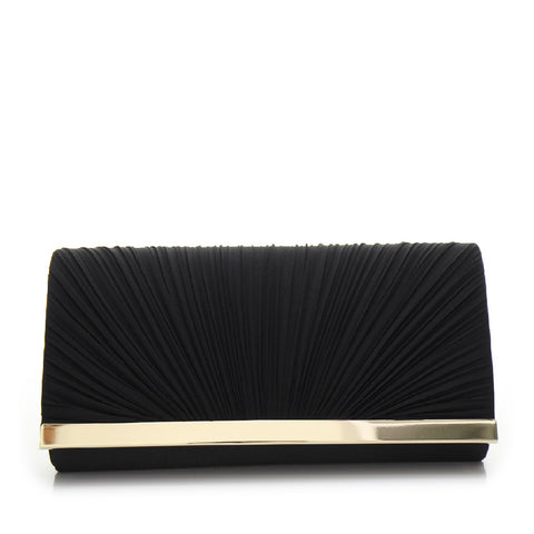Promo Satin Evening Bag - PR0995 Black