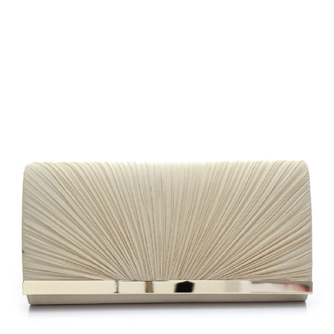 Promo Satin Evening Bag - PR0995 Light Gold