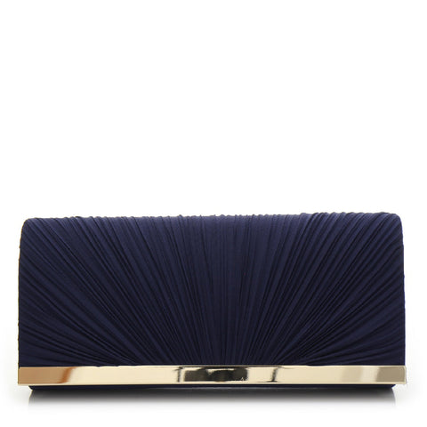 Promo Satin Evening Bag - PR0995 Navy