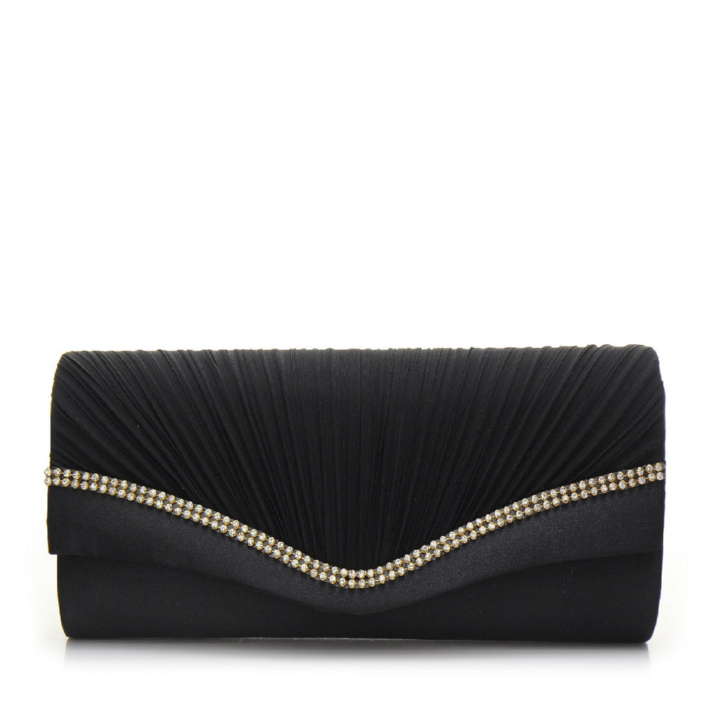 Promo Satin Evening Bag - PR0996 Black
