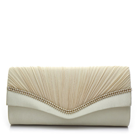 Promo Satin Evening Bag - PR0996 Gold