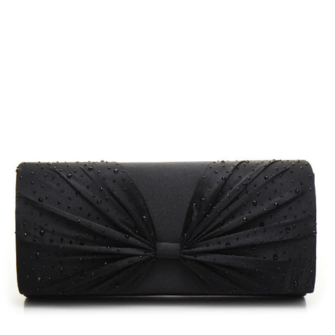 Promo Satin Evening Bag - PR0997 Black