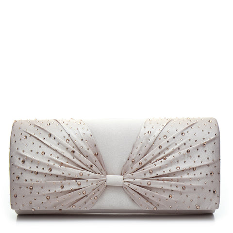 Promo Satin Evening Bag - PR0997 Nude