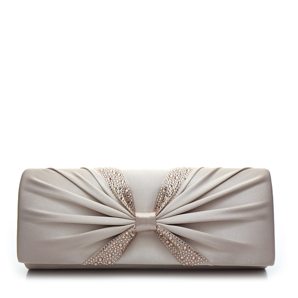 Promo Satin Evening Bag - PR0998 Beige