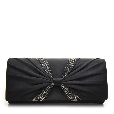 Promo Satin Evening Bag - PR0998 Black