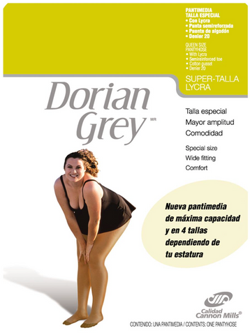 Pantimedia Dorian Grey Super Talla