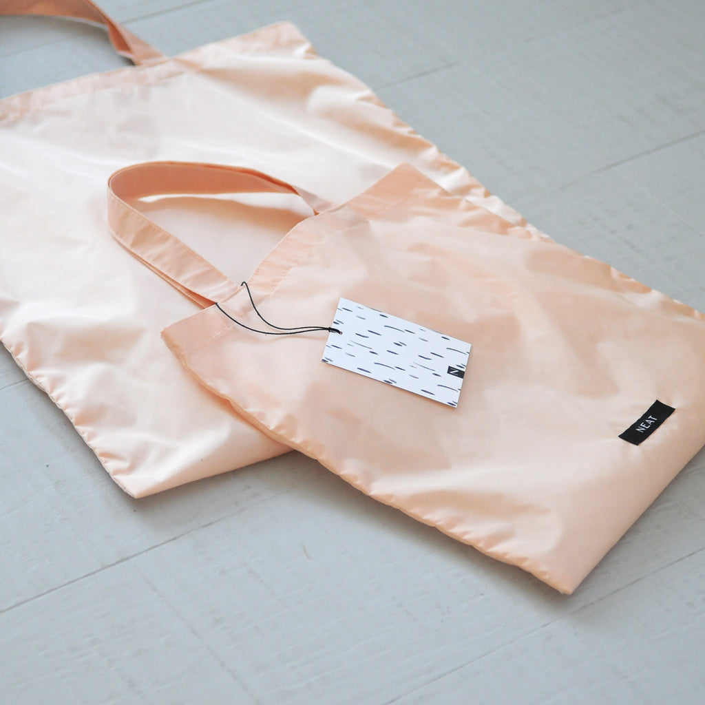 Shopping Bag Set nude: 1 x Mini, 1 x Regular